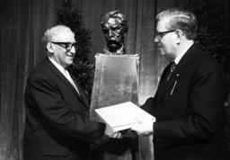 Awarding ceremony of Albert-Schweitzer Book Price