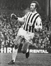 Jeff Astle West Bromwich Albion (w.b.a.) F.c. Footballer In Action. Box 693 102906167 A.jpg.