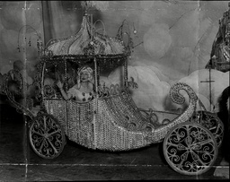 Scene Of Pantomime 'cinderella' At The London Palladium.