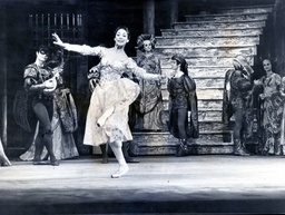 Rudolf Nureyev (1938-1993) And Dame Margot Fonteyn (1919-1991) Pictured Performing In The Royal Ballet Production Of Romeo And Juliet At The Royal Opera House Covent Garden.