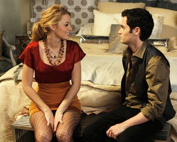 GOSSIP GIRL, from left: Blake Lively, Penn Badgley, 'The Magnificent Archibalds', (Season 2, ep. 211