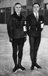 Winterolympiade 1932/Schäfer u.Grafström - Winter Olympics 1932/Schäfer & Grafström -