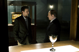 THE LIBRARIAN: THE CURSE OF THE JUDAS CHALICE (aka THE LIBRARIAN 3), from left: Noah Wyle, Bob Newha
