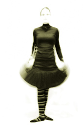 Womans moving skirt