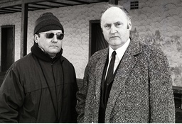 Trainer Imre Farkasinszky li und Manager Günter Brockmeyer beide Wolfsburg