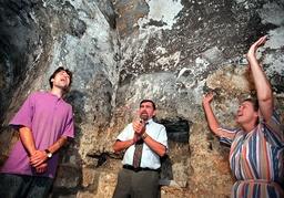 BROTHER DAVID ON JERUSALEM'S MOUNT OF OLIVES