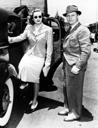 Marlene Dietrich with her husband, Rudolf Sieber, 1937