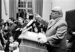 GDR lawyer Kaul in Bonn 1968