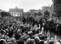Victory parade after the French campaign in Berlin, 1940