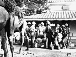 British soldiers in Rawalpindi, 1932