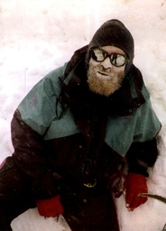 Brian Blessed At The Base Camp Of The British Expeditions To Mount Everest.
