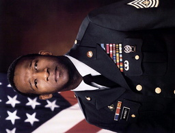 FILE PHOTO OF SGT MAJOR MCKINNEY