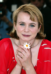 BRITISH ACTRESS EMILY WATSON POSES FOR PHOTOGRAPHERS DURING A PHOTOCALL IN CANNES