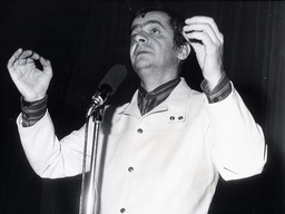Italian Actor Serge Reggiani (1922-2004)