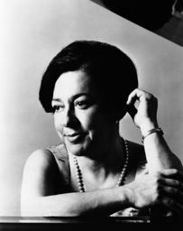 Pianist Alicia de Larrocha, 1969