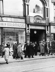 German cinema in Poznan, 1939