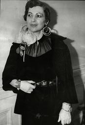 Mrs Ali Soheilly (ali Soheili) Wife Of The Iranian Ambassador.