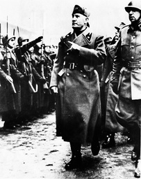 Fascist Dicator Benito Mussolini 1883 - 1945
