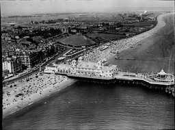 Aerial View Of South Parade Pier At Southsea Hampshire England In 1936
