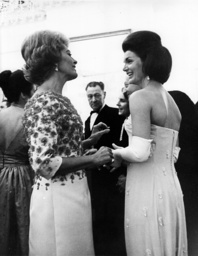 Jackie Kennedy and Nicole Alphand