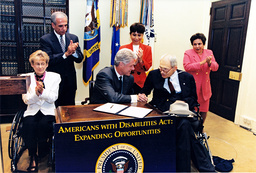 Clinton Signs ADA Directive