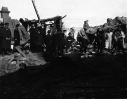 Zerstörungen Port Arthur 1904 / Foto - Russo-Japanese War,Port Arthur destroyed - Destructions de Port Arthur 1904 / Photo