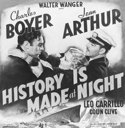 History Is Made At Night - 1937