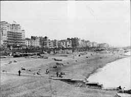 The Beach Looking East At Brighton