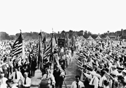 Annual parade of the German-American Bund on Long Island, 1936