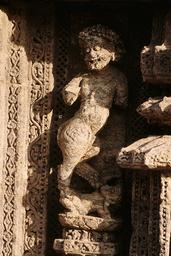 Konarak, Sonnentempel, Fabelwesen / Relief - Konarak, Sun Temple, Mythical Creature / Relief - Konarak, temple du Soleil, créature fabuleuse / Relief