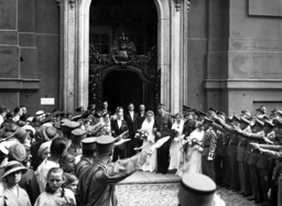 Wedding of the 'Luise Brides' in the garrison church in Potsdam, 1936