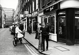 Fashion Designer John Stephens In Carnaby Street