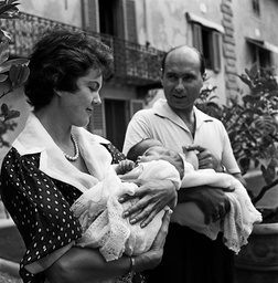 Family Maria Pia of Savoy and Alexander Karageorgevic of Yugoslavia