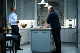 HOUSE OF CARDS, (from left): Joel Kinnaman, Kevin Spacey, (Season 4, airs March 4, 2016). photo: