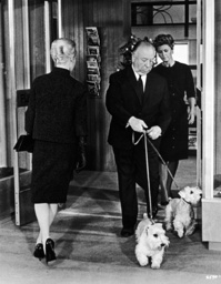 Sir Alfred Hitchcock and Tippi Hedren