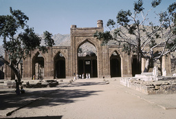 Ajmer, Adhai-din-ka-Jhonpra-Moschee von O / Foto - Ajmer, Adhai-din-ka-Jhonpra Mosque / Photo -