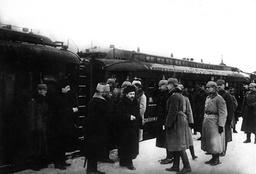 Peace negotiations in Brest-Litovsk, 1917