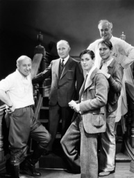 THIS DAY AND AGE, from left, director Cecil B. DeMille, producer Adolph Zukor, Eddie Nugent, Richard
