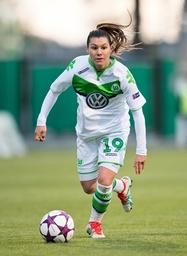 Ramona BACHMANN VfL Fussball Frauen international UEFA Championsleague Saison 2015 2016 Halbfina