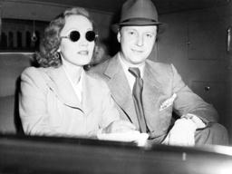 Marlene Dietrich and Rudolf Sieber, 1937