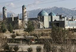Mazar-i-Sharif, Blaue Moschee, Außenansicht / Foto - -