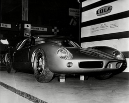 Motor Racing - 1963 - Lola Britain's Newest And Fastest Car. The Car Is A Two-seater. Two-door Grand Touring Coupe Built By Grand Prix Designer Eric Broadley.