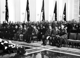 Funeral of General Wever: Goering, Blomberg, Hitler