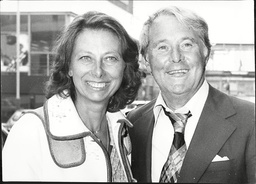 Ernie Wise And His Wife Doreen Wise On Their Return From America.