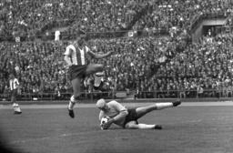 German Soccer - Season 1963-1964 - VfB Stuttgart - Hertha BSC Berlin 2-0