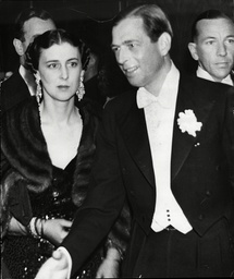 Prince George Duke Of Kent And Wife Princess Marina Duchess Of Kent (prince George Died 1942 Princess Marina Died 1968).