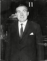 James Callaghan (dead 03/05) On The Night He Resigned As The Chancellor Of The Exchequor