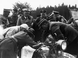 HJ-Motorradgeländefahrt 1936/Schirach... - HJ Motorcycling Tour /Schirach.../ 1936 -