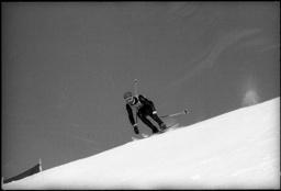 Karl Schranz Skifahrer Karl Schranz skier Wengen Wengen PUBLICATIONxNOTxINxSUI