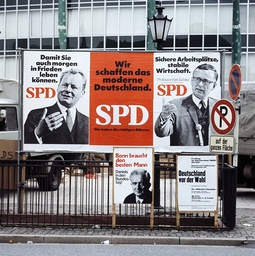Bundestag election campaign 1969 - Election posters